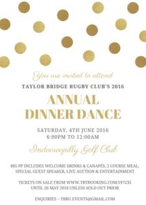 2016 ANNUAL DINNER DANCE FLYER HI RES