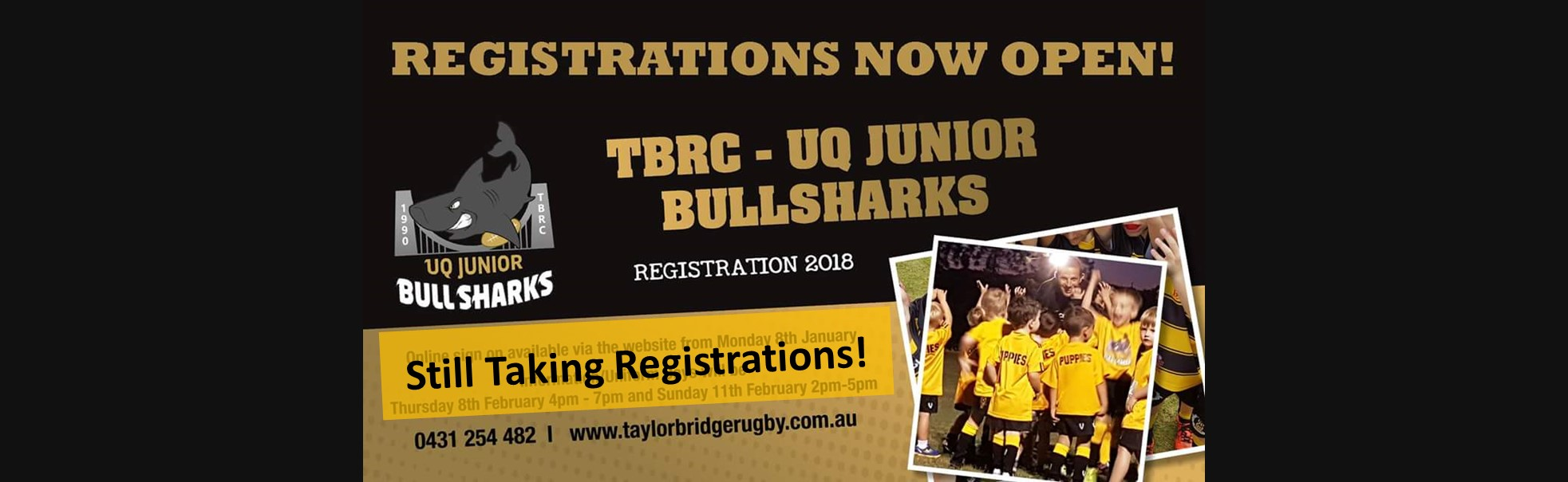 2018 Rego Sign on for Website banner