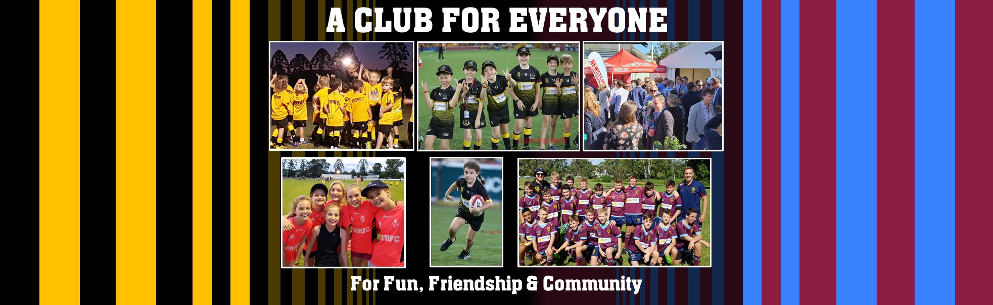 A club for all FB banner